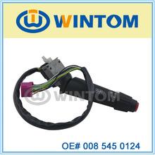 mercedes-benz actros 1844 steering column switch 008 545 0124