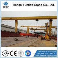 Outdoor Single Beam Light Weight Gantry Crane, L Type Gantry Crane For Your Best Money