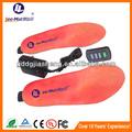 As amostras livres de pé de novo bateria quente aquecimento palmilhas/sapato almofadas