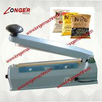 Small Snack Bag Closing Machine Domestic Plastic Film Sealer