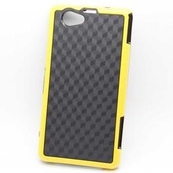 bicolor shock proof tpu cover for sony xpreria z1 mini