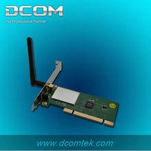 oem 802.11b/g/n ethernet wifi pci 11n 150m wireless adapter