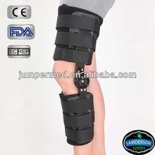 medical Sports neoprene black comfortable medical knee stabilizer