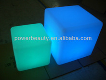 led cube rgb for chairs, table, side table use