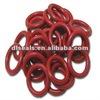 Food grade Multi-color Silicone o ring rubber seal