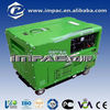 5kva air cooled single cylinder diesel generator for sale