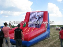 stick velcro wall inflatable game ,2014 hot inflatable sports walls