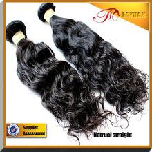 2014 Wholesale unprocessed 100% virgin human hair color natural Indian hair