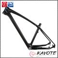 650b 142*12mm 135mm través de liberación rápida 650b mtb cuadro de carbono chino marcos de bicicleta