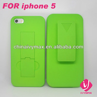 hard pc shell belt combo cases for iphone 5s