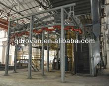 01 ISO 9001 CE certificate Q58 series hanging chain type shot-blasting machine