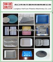 ps foam styrofoam food box/plate making machine