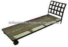 Vintage Industrial Bed