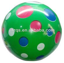 plastic pvc ball , pvc balls , pvc toy ball - Colorful Dot design