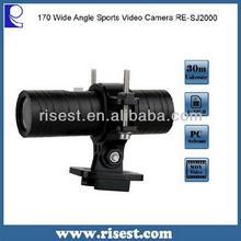 HD 1280*720P 12MP Mini Build in Li-battery Sports DV RE-SJ2000