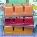 Cera colorata fusione crostate/scentsy bar per più caldi