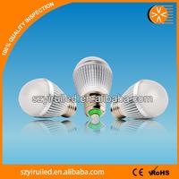 LED light bulb display demo case, LED light bulb 5w smd5730 90Ra 12leds with favorate price