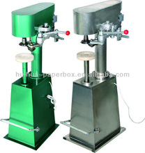 manual sealing machines for paper/plastic cans