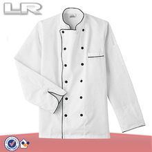 Five Star Chef Apparel Split Sleeve Double Breasted Unisex Executive Chef Coat (White XS-5X)