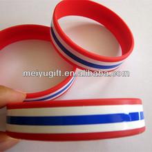 Thailand national flag wristband 2016 Popular gift