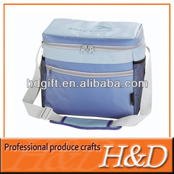 Elegant durable polyester tote lunch pack golf cooler bag