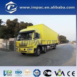 6x4 corrugated plate china mini van truck