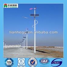 galvanized outdoor electric street light pole