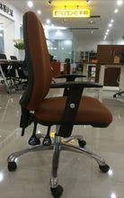 High Baron Back Upholstered metal chrome swivel chair base G-701