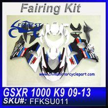 Fairing Kits for SUZUKI GSXR1000 09 10 11 12 13 GSXR 1000 K9 GSXR1000 GSX R1000 Body Fairings RACE Version FFKSU011