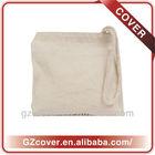 custom made cheap small zipper cotton canvas tote bags