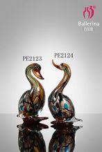 Wholesale Desktop Glass Animal Handicrafts