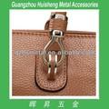 Venda quente de bronze acessórios para sacos