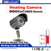 "1/4"" CMOS 900TVL IR LEDs CCTV System waterproof Heating surveillance camera day night dual use"