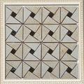 prezzo di fabbrica nuovo stile mosaico di pietra naturale bagno mattonelle della parete