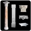 decorative stone columns VP-0906A
