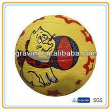 Yellow cat classic sport basketball