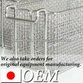 Japanische hochwertige Bearbeitung oem, küchenspüle drahtkorb