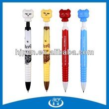Multi Color Cute Promotional Animal Plastic Pen Advertising Plastic Ballpoint Pen