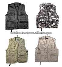 Photography Vest 100% Cotton Photography Vests Multi Pocket Vest