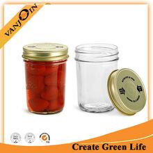8oz Clear Jam Jelly Glass Jar Promotion