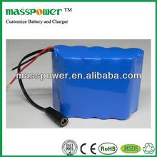12v 18650 battery pack for LED light