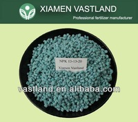 Vastland high quality 13-13-20 npk fertilizer msds