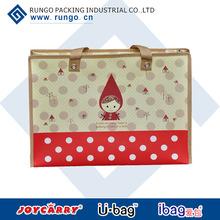korean style promotional cheap logo shopping bags