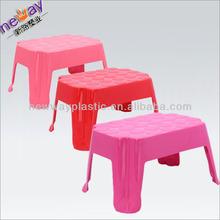 Small square plastic stool