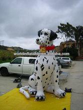 advertising big inflatable Dalmatian model