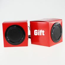 2014 Supports MP3 format perfect sound enjoyment speaker,paper speaker,mini car music speaker