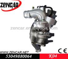 Substituição kkk turbos para Audi TT / S3 53049880064 / 06F145702C / 53049700064