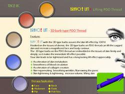 BRAVO! LIFT - 3D barb type PDO Thread