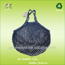 2014 fashion handmade cotton shopping net bags