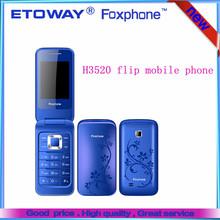 New Arrival! 2014! cheap wholesale new filp phone H3520